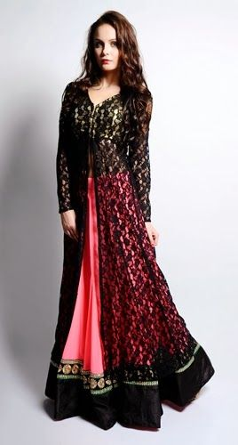 pakistani dress design 2014