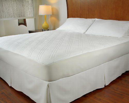 1 4 Quilted Memory Foam Mattress Pad Queen By Purerest 79 99 Machine Washable And Dryable 18 Stretchy Skirt 60 X 80 0 25