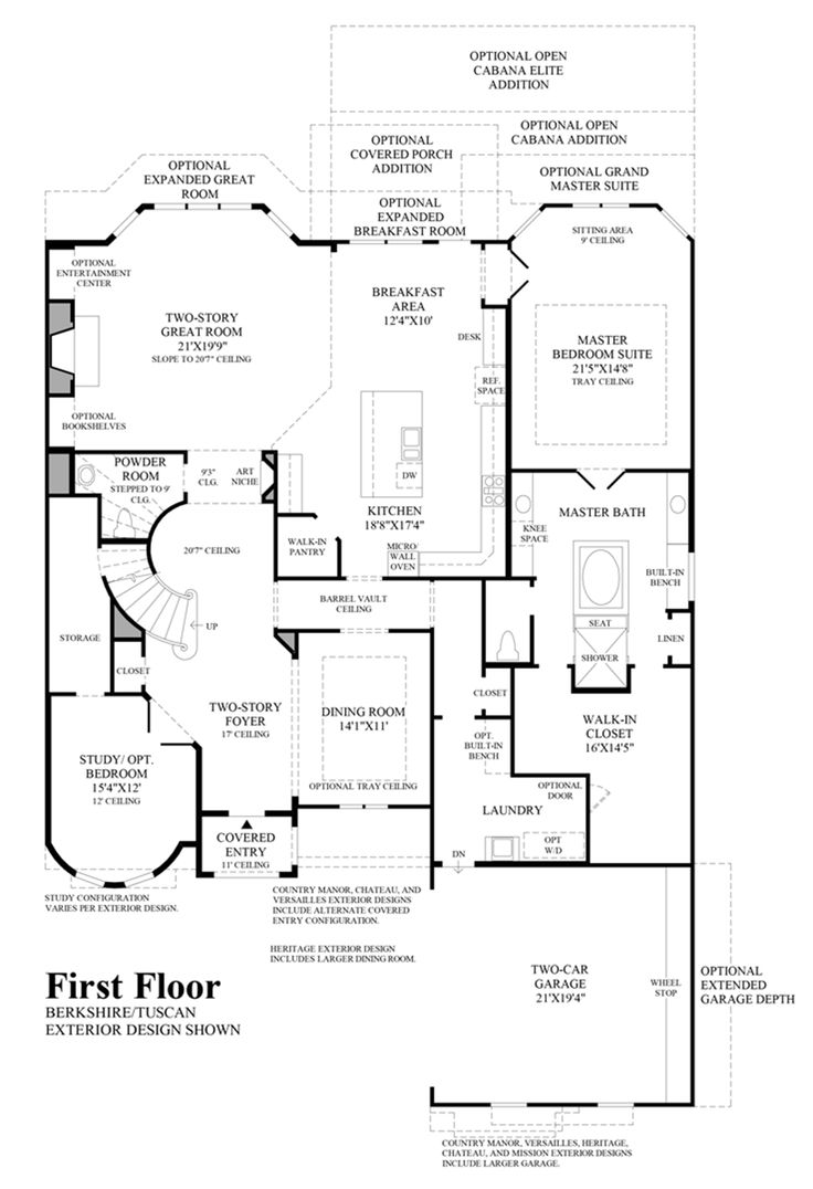 14 best new home floor plans images on pinterest floor plans the bellwynn is a luxurious toll brothers home design available at canyon falls view this model s floor plans design your own bellwynn more
