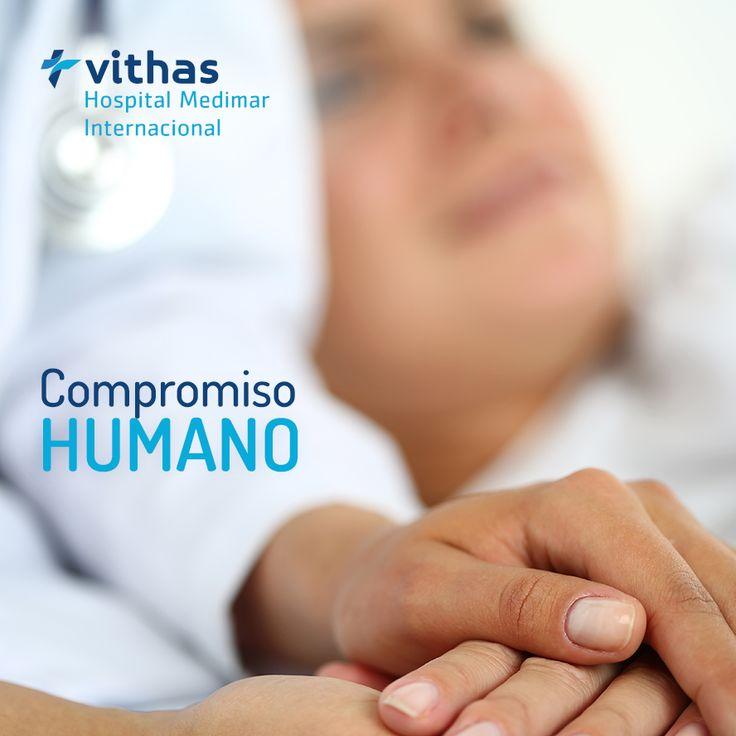 Nos preocupamos por ofrecer el mejor servicio hospitalario y sanitario, pero también el mejor compromiso humano y moral, siendo esta la piedra angular de nuestro quehacer médico #HospitalMedimar #Medimar #CompromisoHumano