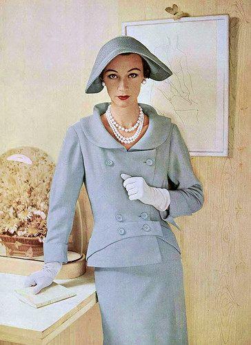 Sophie Malgat 1953 by dovima_is_devine_II, via Flickr