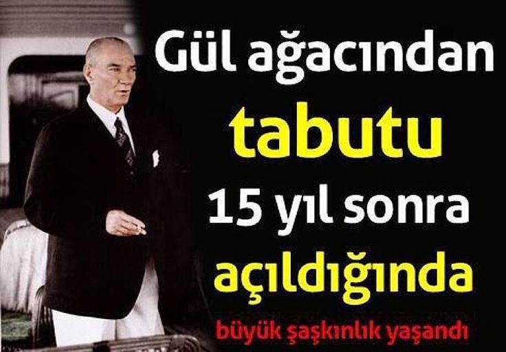 tabut da 15 yıl içinde yattığı büyük gül ağacı tabutun içine konuldu. Üzeri bayrakla örtüldükten sonra kapağı kapatıldı.  Ve 10 Kasım sabahı, Ata'nın naaşı 15 yıl önce onu Dolmabahçe'den Ankara'ya taşıyan top arabasına yerleştirilip son durağı olacak Anıtkabir'e taşındı. Artık ebediyen orada kalacaktı... Atatürk'ün tabutu, Menderes'in huzurunda açılmıştı  Ata'nın 15 yıl Etnografya Müzesi'nde bekletilen naaşı,12 askerin omuzları üzerinde oradan alınmış ve 136 asteğmenin çektiği bir top…