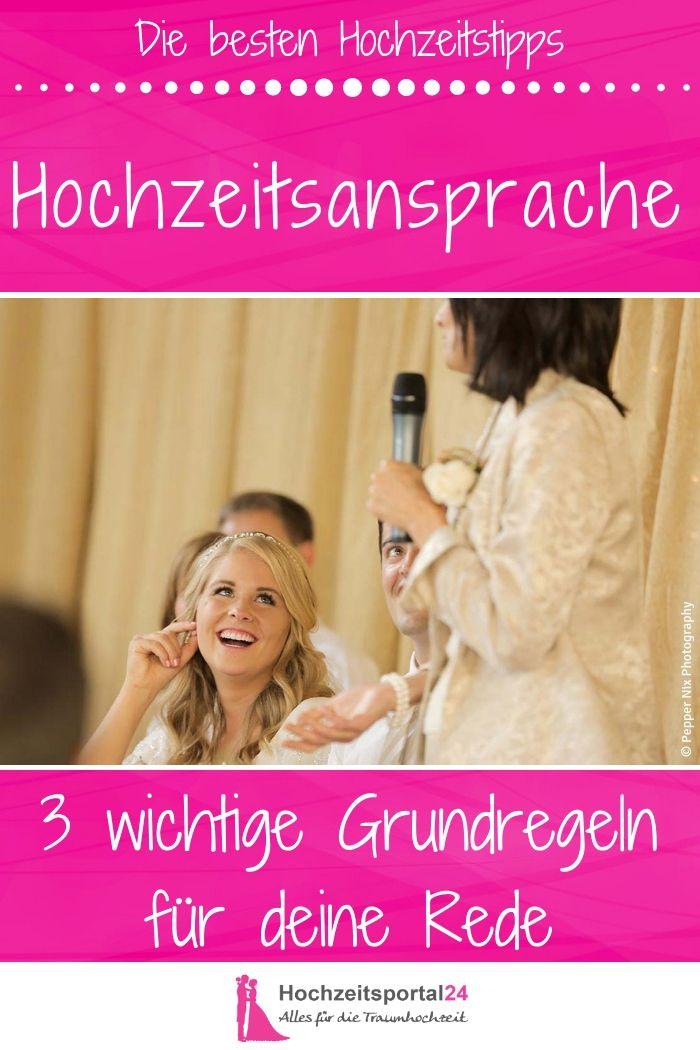 Hochzeitsansprache Die Besten Tipps 3 Grundregeln Fur Eine Gute Rede Hochzeitstipps Hochzeitsreden Und Standesamtliche Trauung