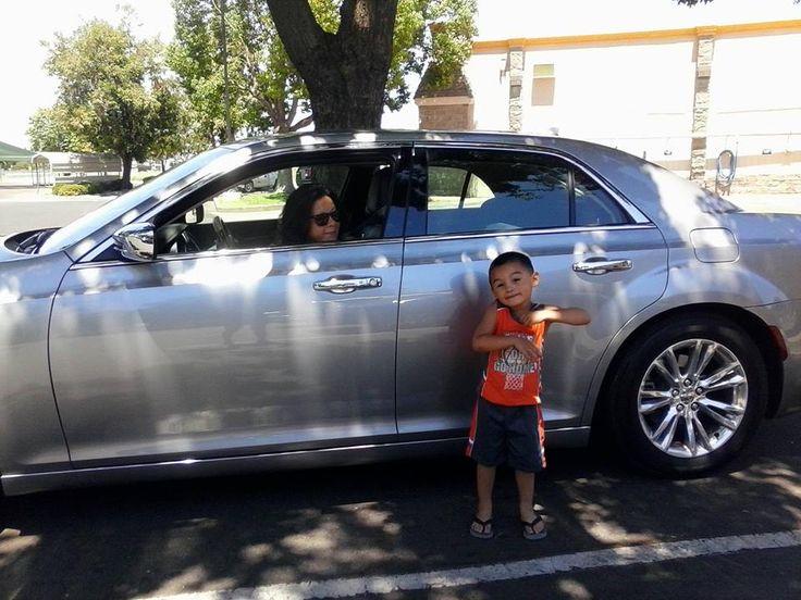 Our Enterprise Car Rental free upgrade Chrysler 300