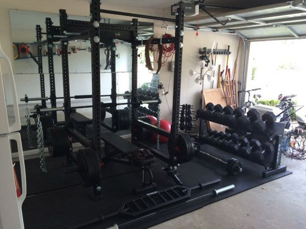 Definitely a rogue monster rack gym pinterest garage