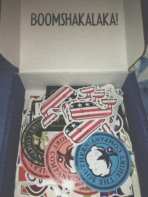 its weird that i just got one o these stickers from my bro and i saw this