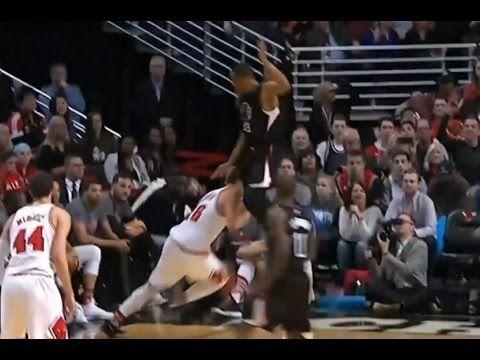 시카고 불스 집서 & 존슨 스턴트쇼 (Feat 스카티 피팬) NBA Zipser & Johnson stunt show (Feat ...