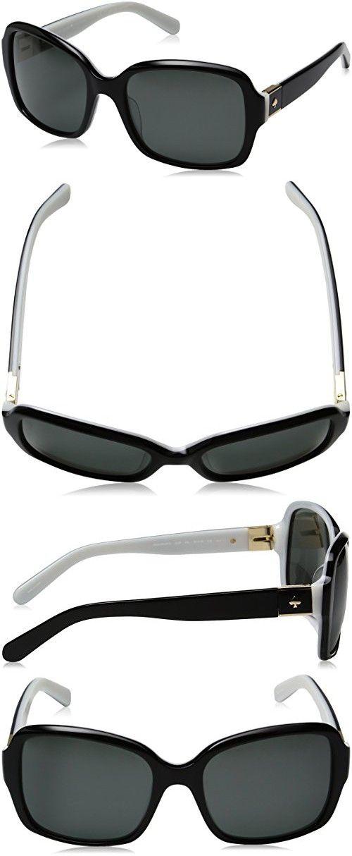 d20711933f Kate Spade Women s Annora Ps Polarized Rectangular Sunglasses