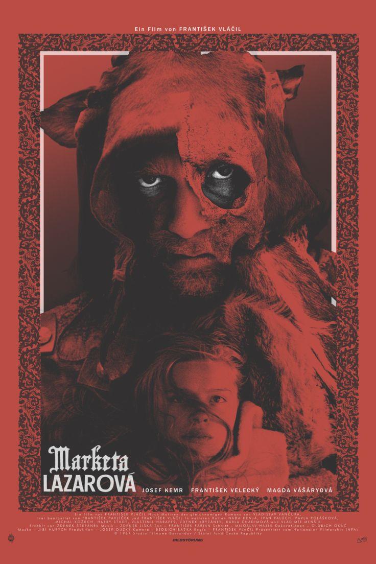 Kinoposter für den Kinostart von Marketa Lazarová  Regie: Frantisek Vlácil Mit: Magda Vásáryová  Demnächst im Kino und auf DVD & Blu-ray!