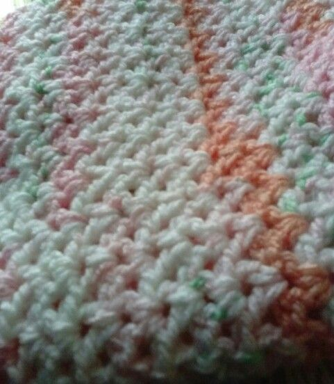 Crochet Baby Blanket Patterns Worsted Weight Yarn : 17 Best images about Easy crocheted blankets on Pinterest ...