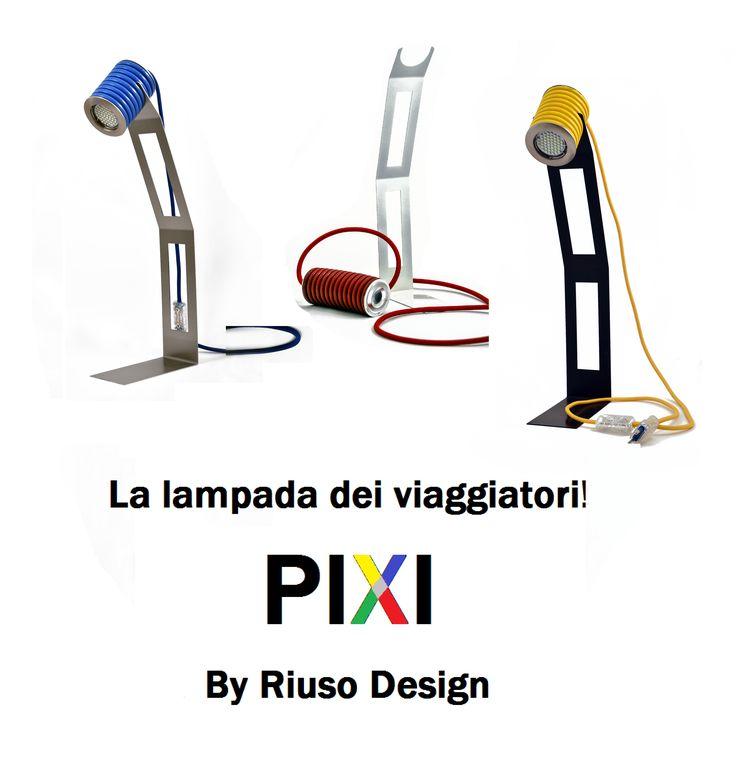 PIXI – Arriva la prima lampada pensata per chi viaggia