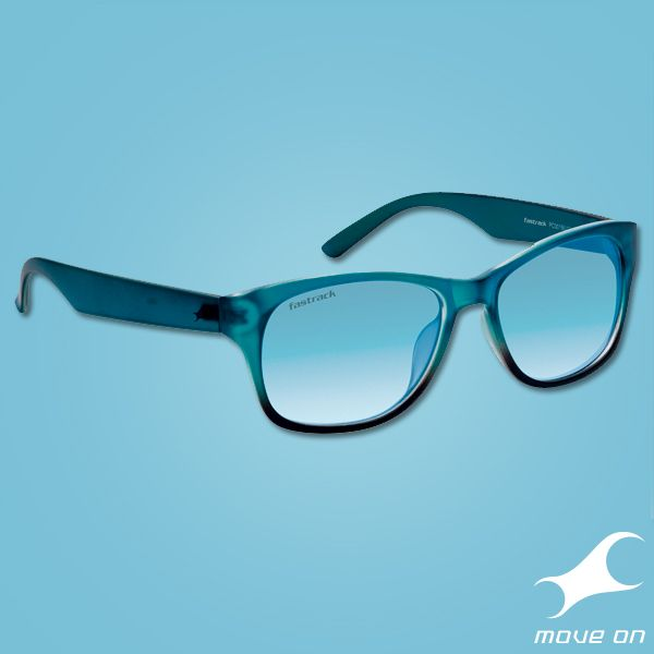 These new wayfarers are our Flavor of the season! #Fastrack #Blue #Wayfarer #Sunglasses