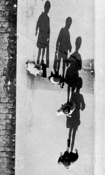 André Kertész, Shadows, 1931. Photographed from above