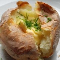 Baked Jacket Potatoes : Halogen Oven Recipes