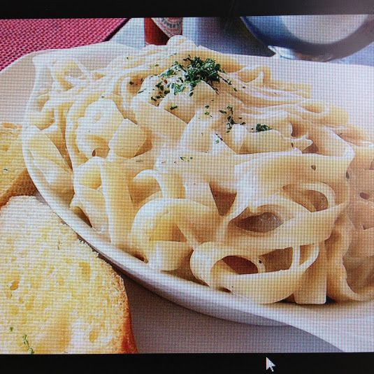 Pasta:  Fettuccine Alfredo - Rachel Ray