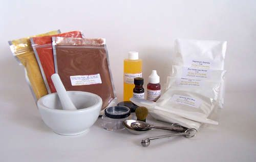 DIY Mineral Makeup: Skincare, Idea, Diy'S, Stuff, Homemade Mineral, Mineral Makeup, Diy Beauty, Minerals