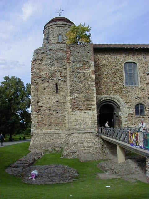 Colchester Castle in Colchester, Essex, England