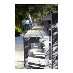 falster bench outdoor gray ikea silver lake moments m bel ikea ikea falster. Black Bedroom Furniture Sets. Home Design Ideas