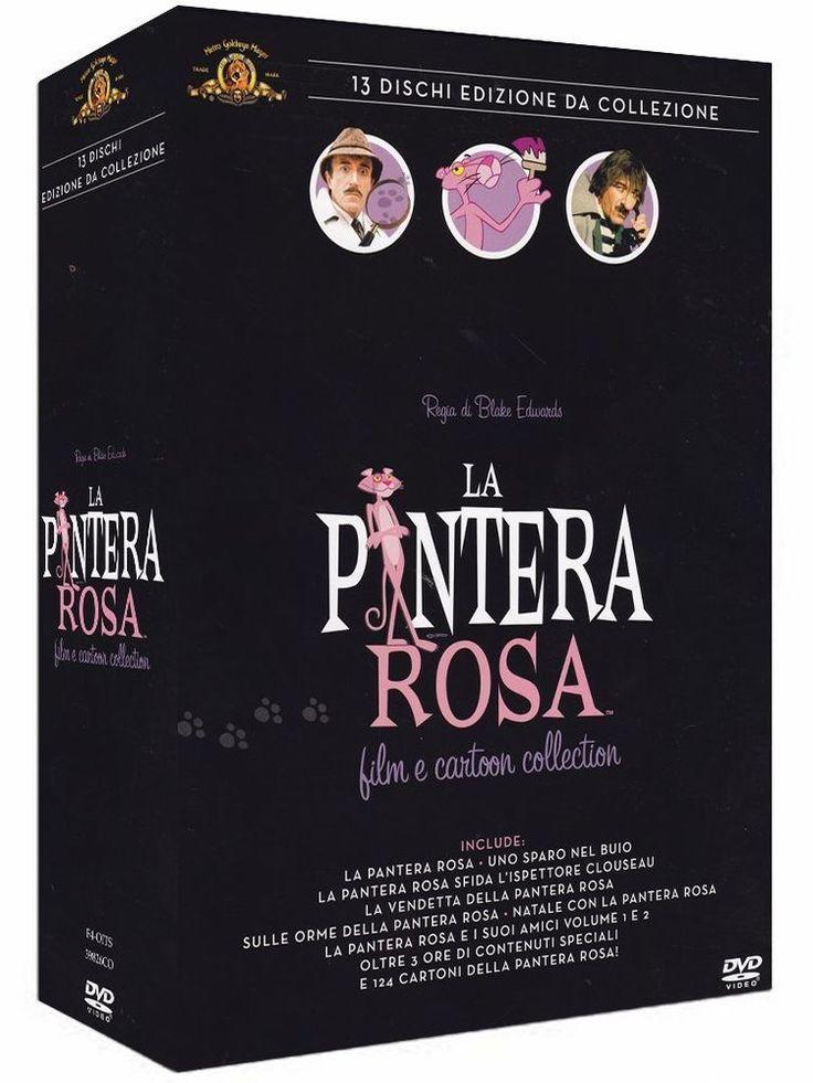 La Pantera Rosa Film E Cartoon EDIZIONE da COLLEZIONE (13 Dvd) COFANETTO REGALO
