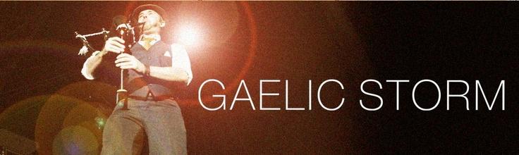 Gaelic Storm: Guaranteed to put me in a good mood.