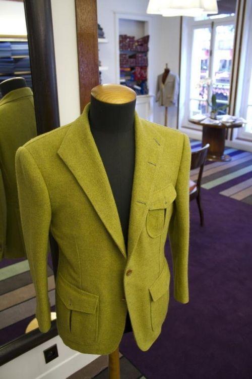 "Cifonelli - ""Qilian"" jacket (Yak wool from Tibet)"