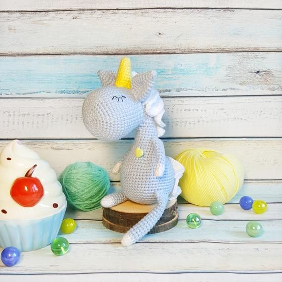 Crochet unicorn Mini Unicorn small unicorn, Kawaii unicorn stuffed animal, soft toy, Mini unicorn figurine, stuffed unicorn easter decor