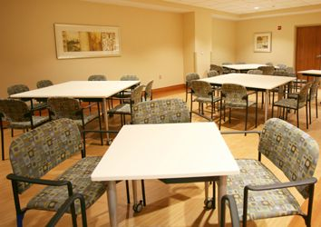Atrium Medical Center (Middletown, OH) Tag side/guest, bariatric seating in cafeteria/dining area. #NationalOffice #FurnitureWithPersonality