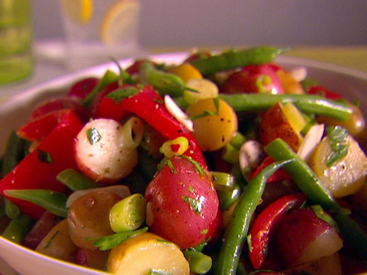 Giada DeLaurentis - Warm Vegetable Salad recipe from Everyday Italian via Food Network