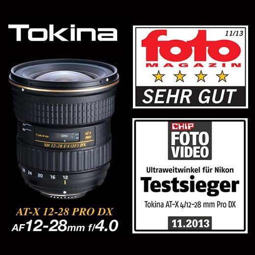 """Gleich zwei Auszeichnungen für das neue TOKINA AT-X 12-28 PRO DX Objektiv!  fotoMAGAZIN erteilt ein """"Sehr gut"""" im Objektivtest Heft Nr. 11/13 Im CHIP FOTO-VIDEO Test """"Ultraweitwinkel für Nikon"""" wird das Objektiv """"Testsieger""""!  http://www.hapa-team.de/produkte/AT-X+12-28+PRO+DX  #tokina #lens #objektiv #fotografie"""