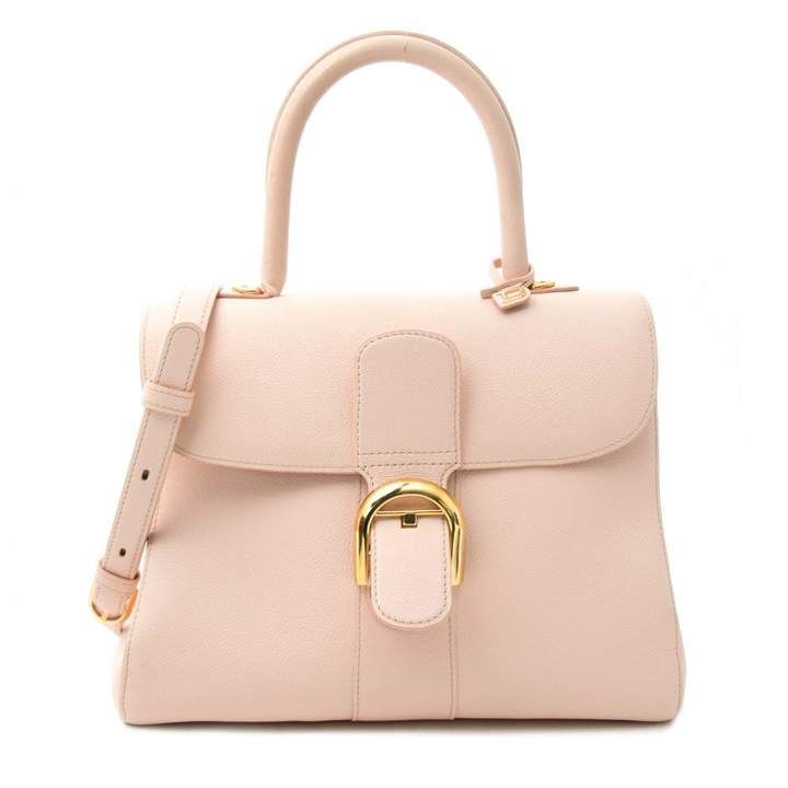 Le Brillant Leather Handbag Delvaux Pink In Leather 7264320 Leather Handbags Leather Bags
