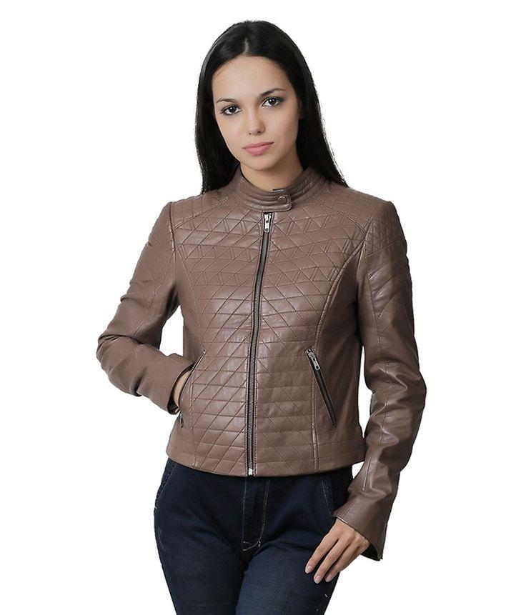 Wild Hawk Brown Leather Jackets