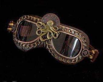 Gafas  bronce Steampunk  listo para enviar