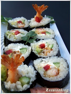 "Lea's Cooking: ""Shrimp Tempura Roll"""