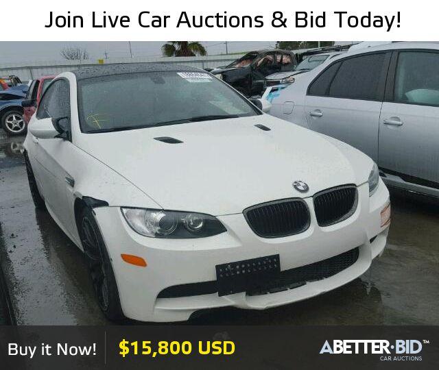 Salvage  2013 BMW M3 for Sale - WBSKG9C55DJ594089 - https://abetter.bid/en/18654547-2013-bmw-m3