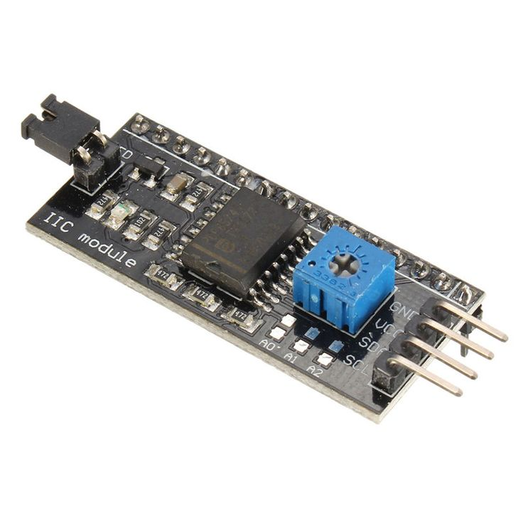 High Quality 10Pcs/lot LCD1602 I2C/IIC/TWI Serial Interface Board Module for Arduino R3 Display 54x19 mm 5V