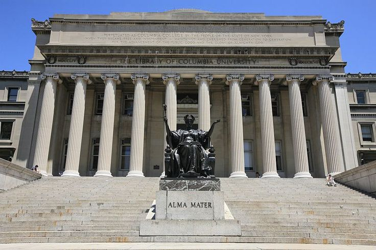 File:Alma Mater and the Library of Columbia University (5892392091).jpg