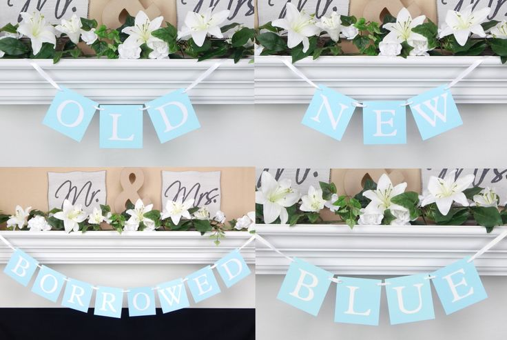 Something old new borrowed blue,wedding reception banner,bridal shower banner,wedding reception decoration,bachelorette party,wedding banner by CelebratingTogether on Etsy https://www.etsy.com/listing/186707976/something-old-new-borrowed-bluewedding