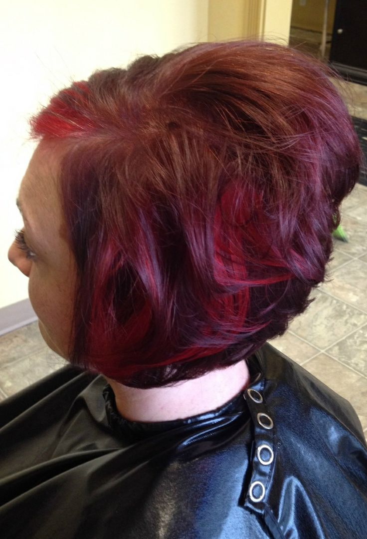 haircuts salem oregon with bright highlights stacked a line haircut 3615