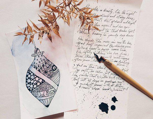 Svetlana Cozlitina calligraphy and watercolor pictures