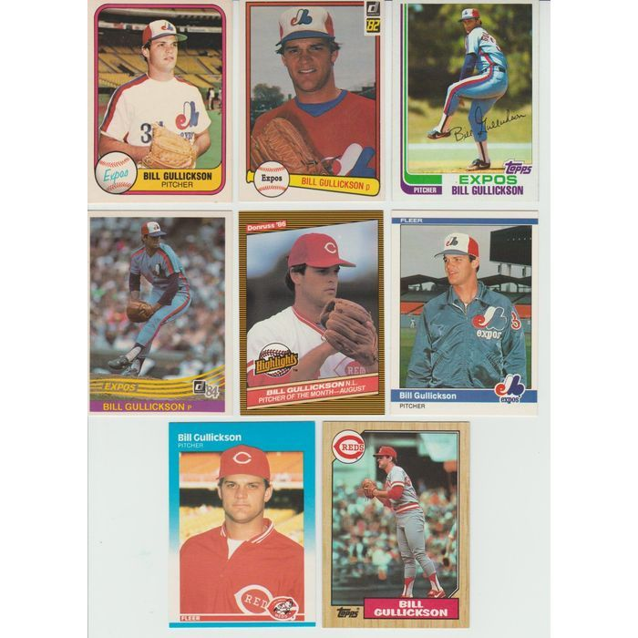 Huge 35 + Different BILL GULLICKSON cards lot 1981 - 1995 Expos Yankees Tigers Listing in the 1980-1989,Sets,MLB,Baseball,Sports Cards,Sport Memorabilia & Cards Category on eBid United States   147952909