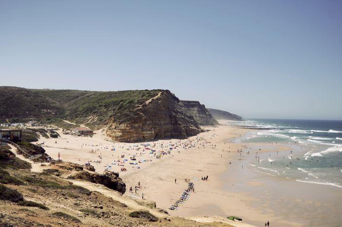 Sao Juliao Beach Cliffs