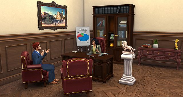 The Sims 4 Careers Guide at Sims Vip via Sims 4 Updates