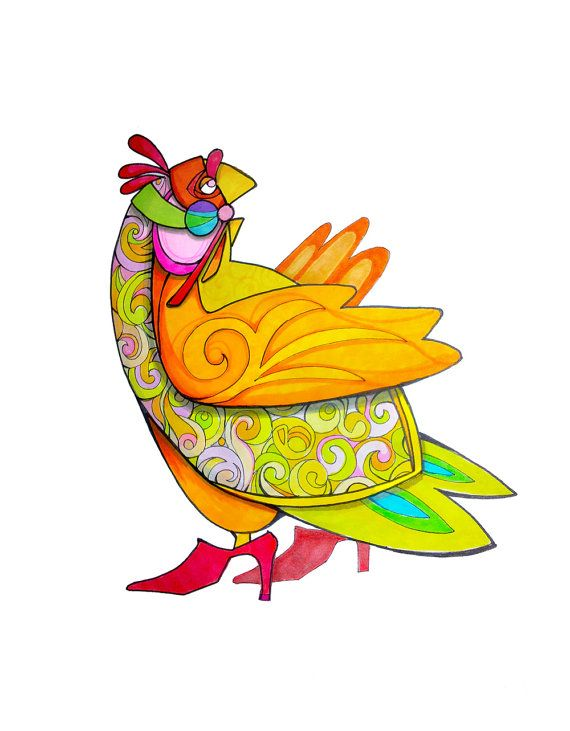 Chicken Brilliant is the brightest bird in the coop. She is poultry, she is fowl, she is every roosters dream. Chicken Brilliant will brighten