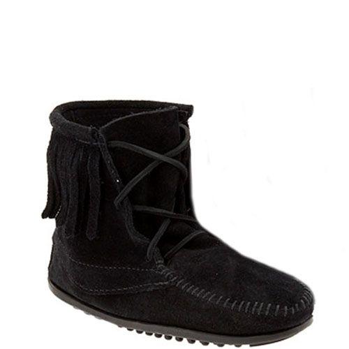 Minnetonka baby laarzen Tramper Boots Black zwart (Kids)