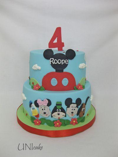 C225. Mikki Hiiri -kakku. Mickey Mouse cake