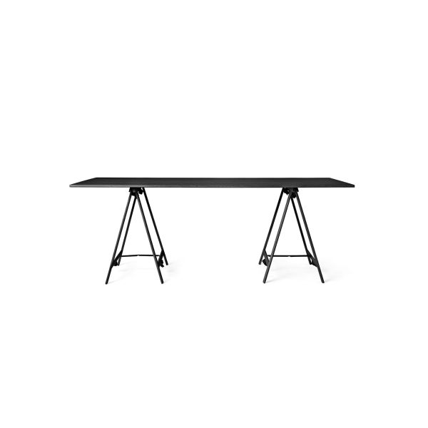 Knot Trestle And Table Top, 85 X 200 Cm By MENU A/S · NachttischeEsstische WohnzimmertischeTischbeineKnoten