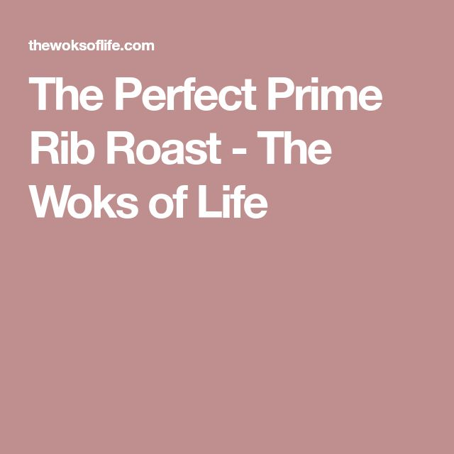 how to cook the perfect prime rib video