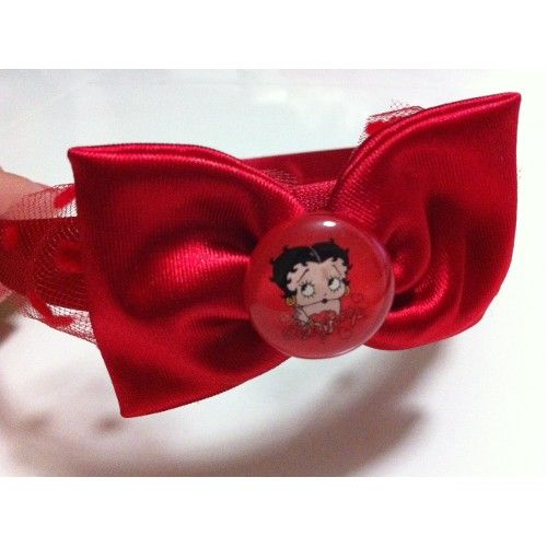 Paper Faces Kalpli Betty Boop Aksesuarlı, Kırmızı Taç, Kız Çocuk 18,00 TL ile…