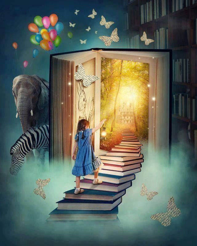 Livros...sua imaginação precisa deles!
