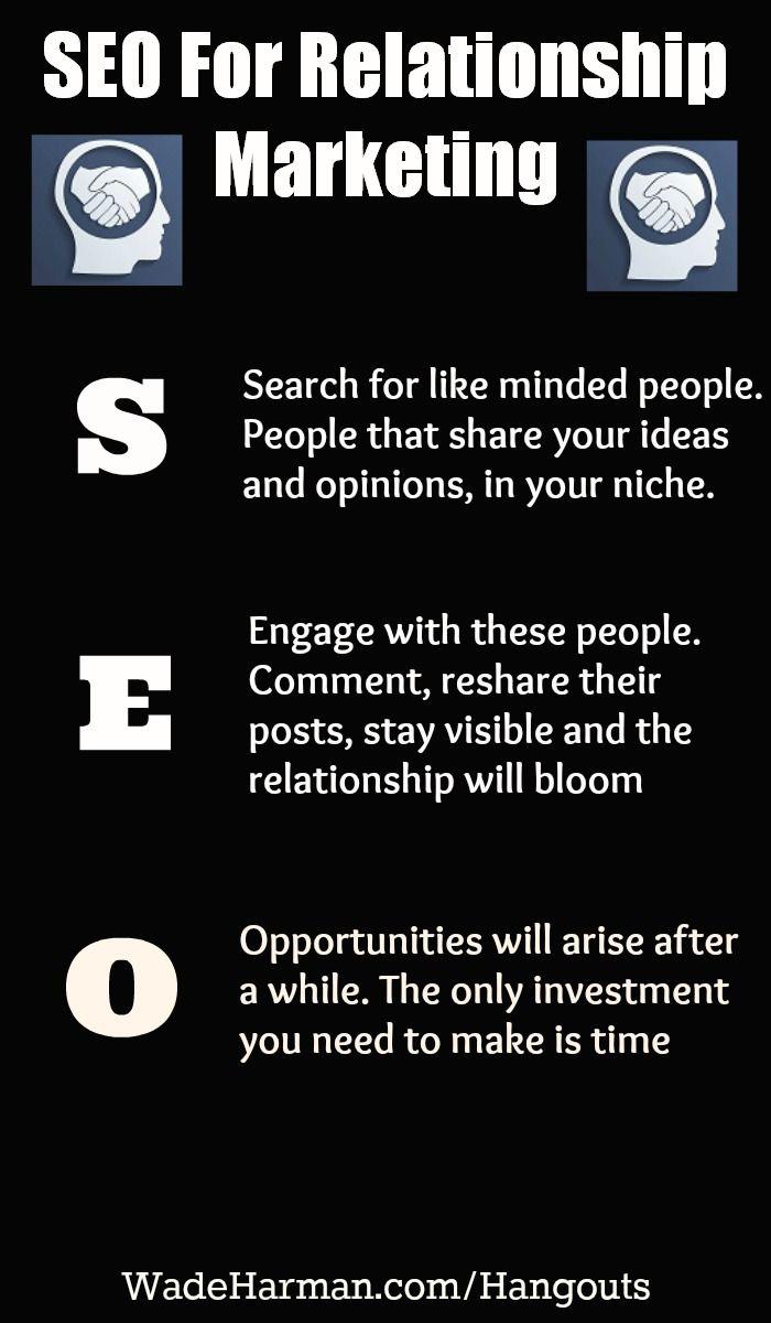 The SEO of building a relationship properly #marketingtips #socialmediatips